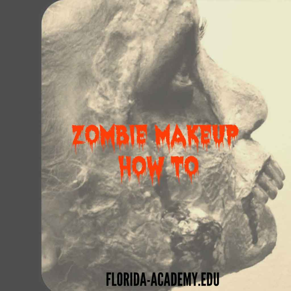 Zombie makeup how-to